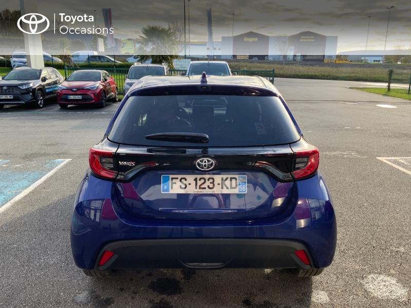 Toyota Yaris 120 VVT-i Design 5p Bleu occasion à NOYAL PONTIVY - photo n°4