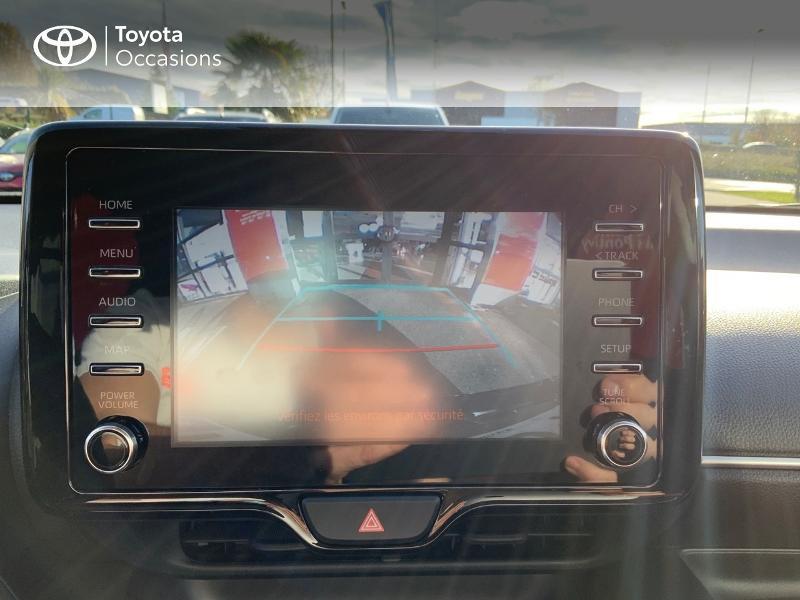 Toyota Yaris 120 VVT-i Design 5p Bleu occasion à NOYAL PONTIVY - photo n°20
