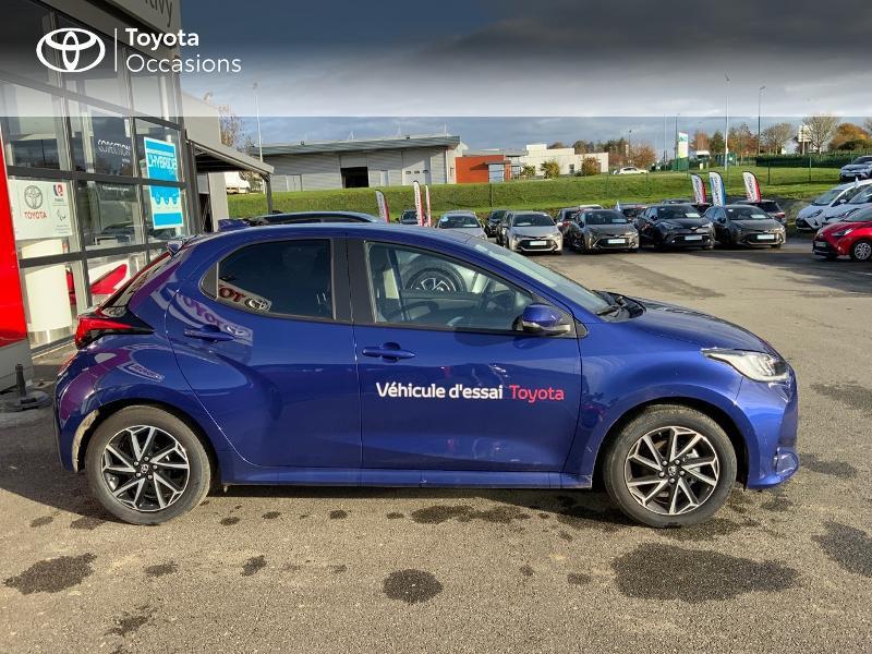 Toyota Yaris 120 VVT-i Design 5p Bleu occasion à NOYAL PONTIVY - photo n°17