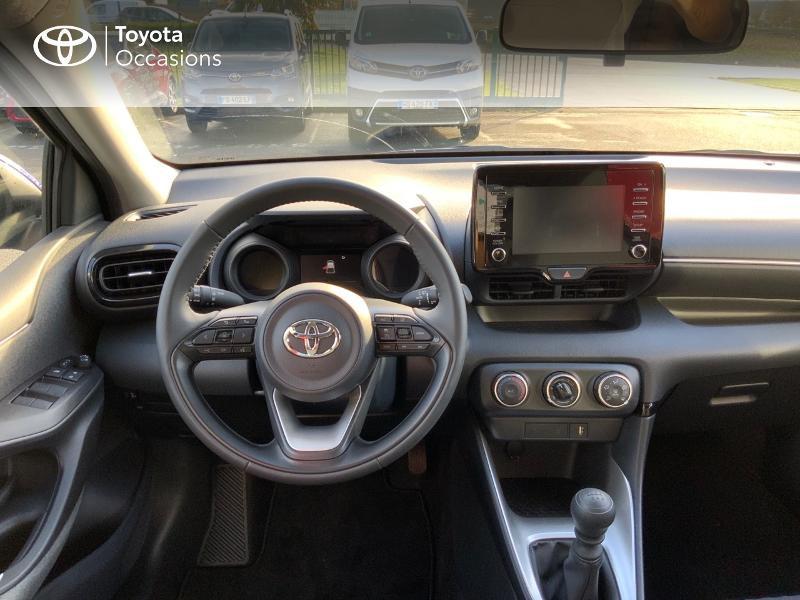 Toyota Yaris 120 VVT-i Design 5p Bleu occasion à NOYAL PONTIVY - photo n°8