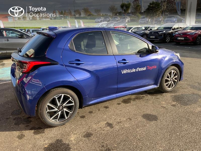 Toyota Yaris 120 VVT-i Design 5p Bleu occasion à NOYAL PONTIVY - photo n°18