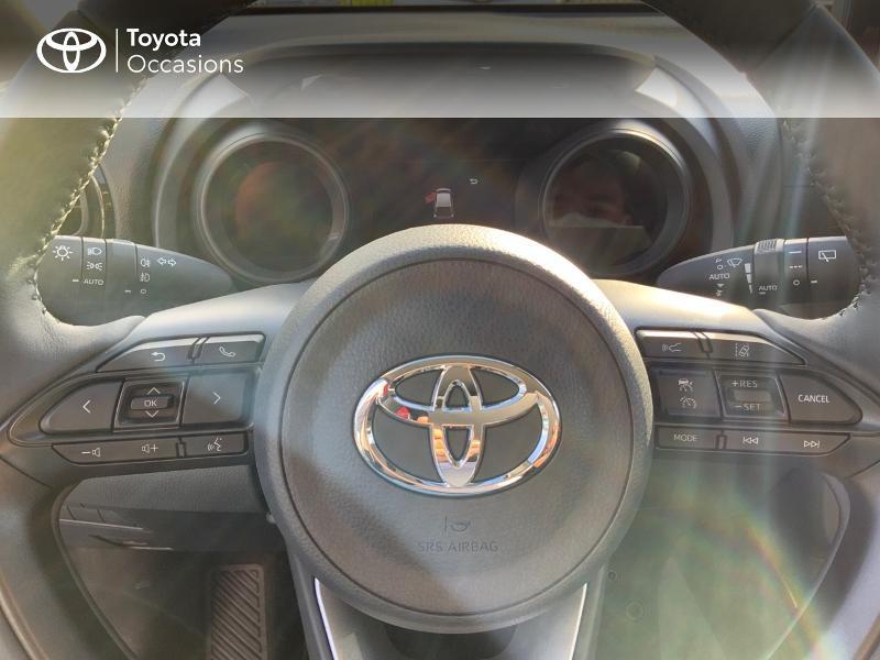 Toyota Yaris 120 VVT-i Design 5p Bleu occasion à NOYAL PONTIVY - photo n°13
