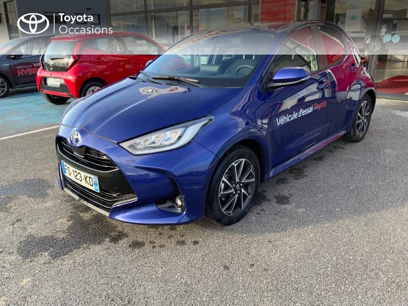 Toyota Yaris 120 VVT-i Design 5p Bleu occasion à NOYAL PONTIVY