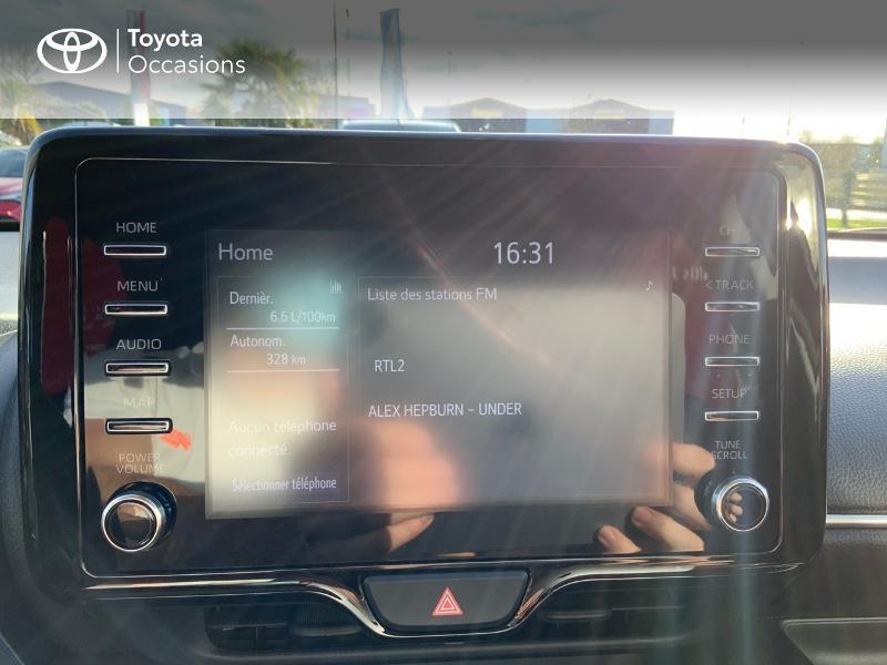 Toyota Yaris 120 VVT-i Design 5p Bleu occasion à NOYAL PONTIVY - photo n°15