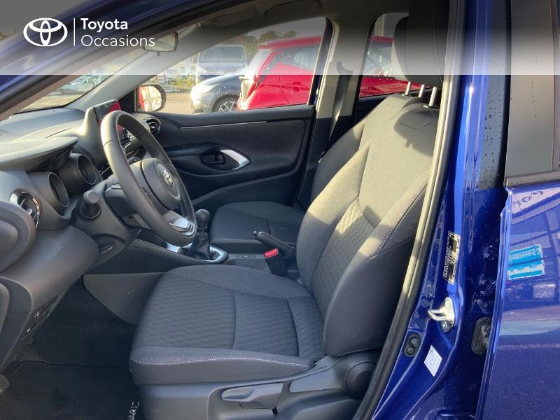 Toyota Yaris 120 VVT-i Design 5p Bleu occasion à NOYAL PONTIVY - photo n°11