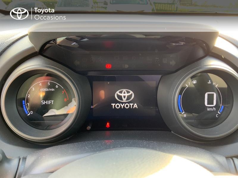 Toyota Yaris 120 VVT-i Design 5p Bleu occasion à NOYAL PONTIVY - photo n°14