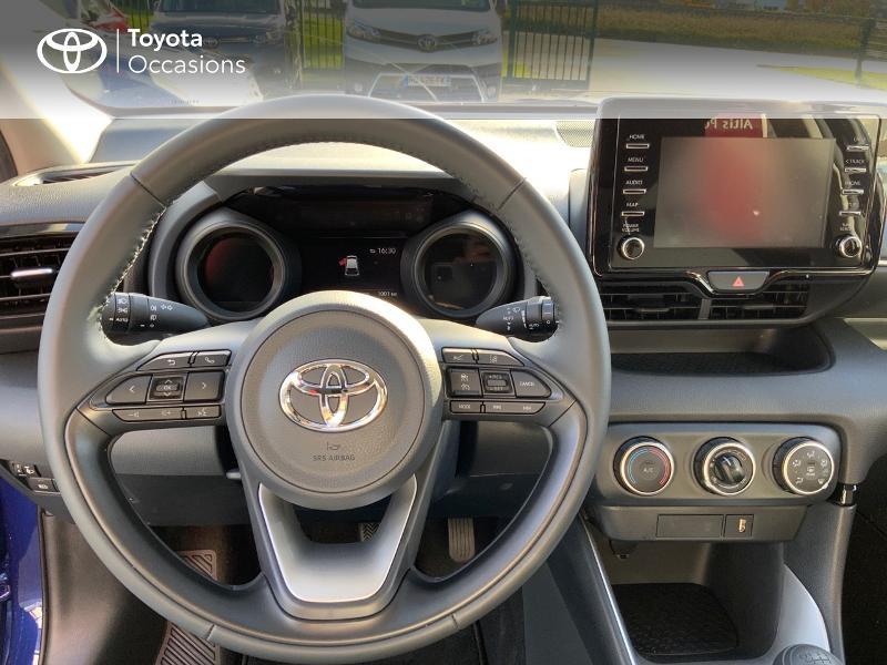 Toyota Yaris 120 VVT-i Design 5p Bleu occasion à NOYAL PONTIVY - photo n°9