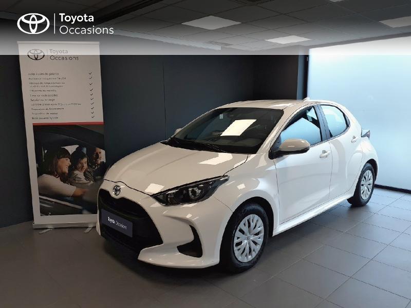 Toyota Yaris 120 VVT-i France 5p Blanc occasion à LANESTER