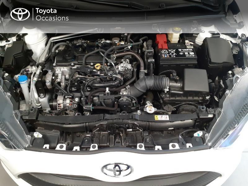 Toyota Yaris 120 VVT-i France 5p Blanc occasion à LANESTER - photo n°7