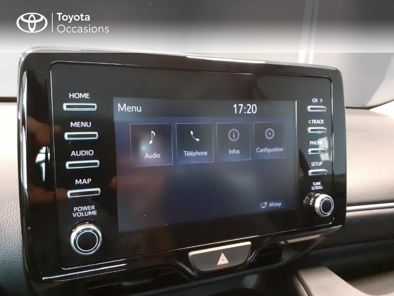 Toyota Yaris 120 VVT-i France 5p Blanc occasion à LANESTER - photo n°15