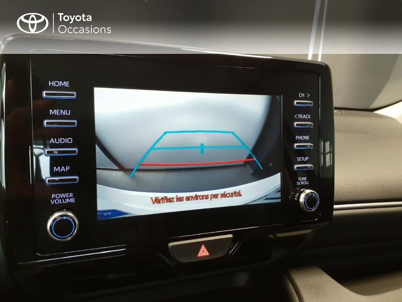 Toyota Yaris 120 VVT-i France 5p Blanc occasion à LANESTER - photo n°6