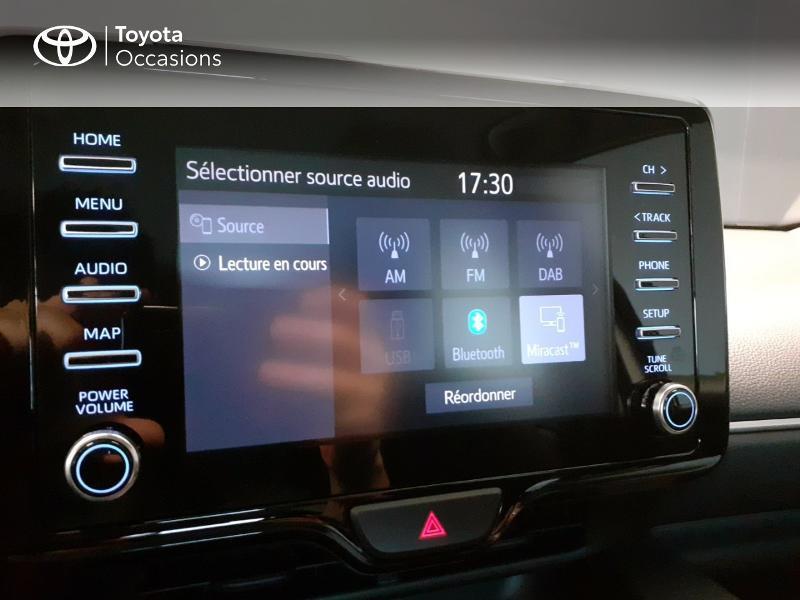 Toyota Yaris 120 VVT-i France 5p Blanc occasion à LANESTER - photo n°17