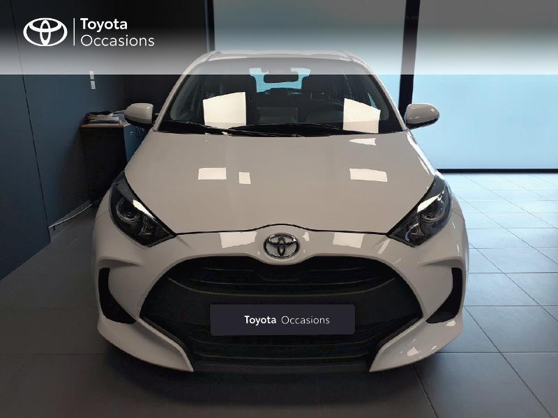 Toyota Yaris 120 VVT-i France 5p Blanc occasion à LANESTER - photo n°5