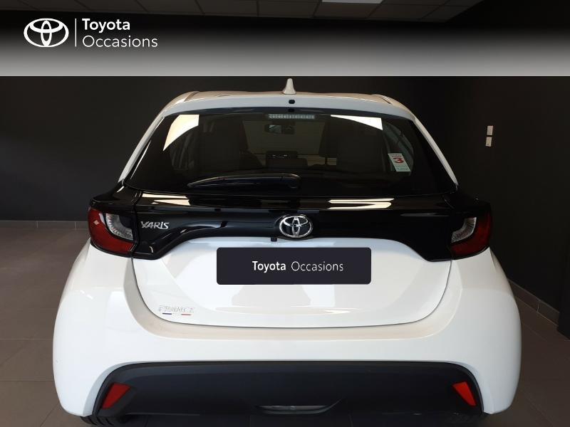 Toyota Yaris 120 VVT-i France 5p Blanc occasion à LANESTER - photo n°4