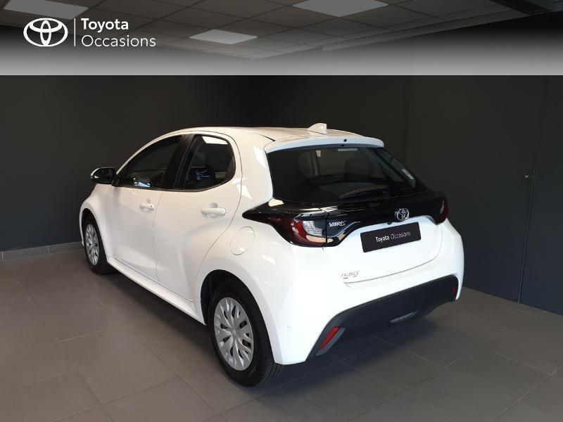 Toyota Yaris 120 VVT-i France 5p Blanc occasion à LANESTER - photo n°2