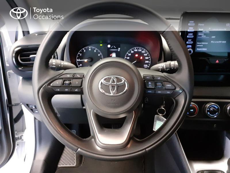 Toyota Yaris 120 VVT-i France 5p Blanc occasion à LANESTER - photo n°9