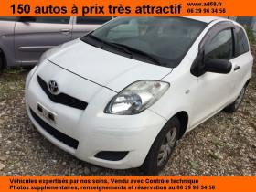 Toyota Yaris Blanc, garage VOITURE PAS CHERE RHONE ALPES à Saint-Bonnet-de-Mure