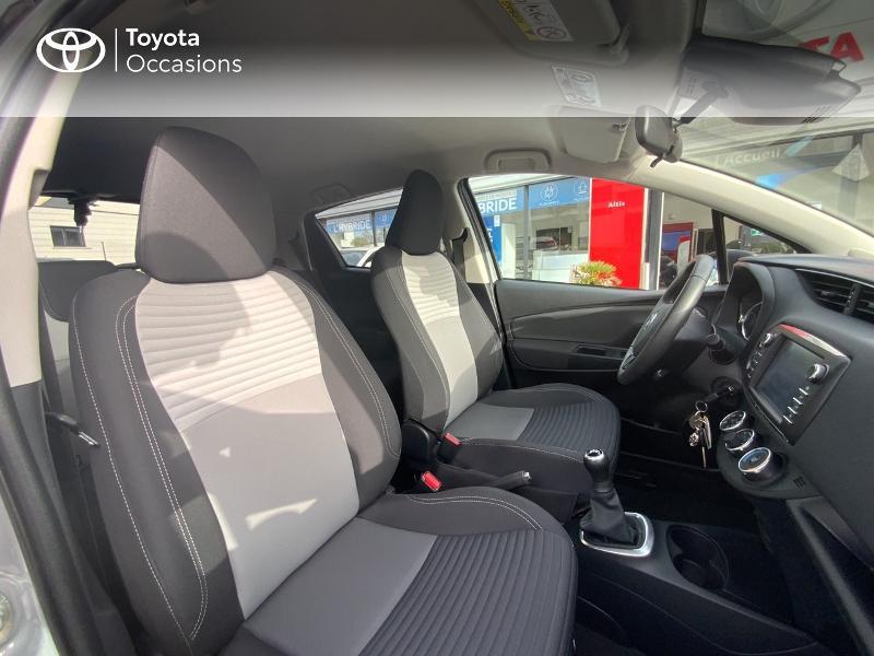 Toyota Yaris 69 VVT-i Design 5p Gris occasion à Pluneret - photo n°6