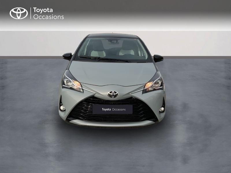 Toyota Yaris 69 VVT-i Design 5p Gris occasion à Pluneret - photo n°5