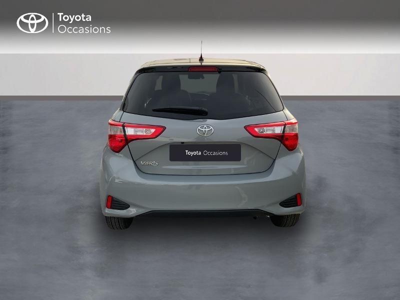 Toyota Yaris 69 VVT-i Design 5p Gris occasion à Pluneret - photo n°4