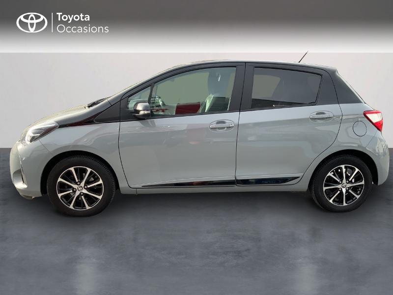Toyota Yaris 69 VVT-i Design 5p Gris occasion à Pluneret - photo n°3