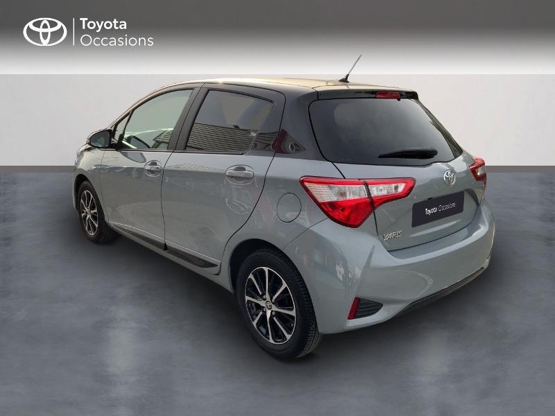 Toyota Yaris 69 VVT-i Design 5p Gris occasion à Pluneret - photo n°2