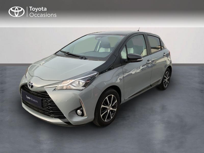 Toyota Yaris 69 VVT-i Design 5p Gris occasion à Pluneret