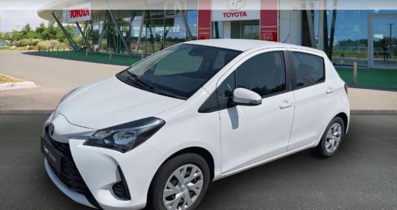 Toyota Yaris 69 VVT-i France 5p Blanc occasion à Hoenheim