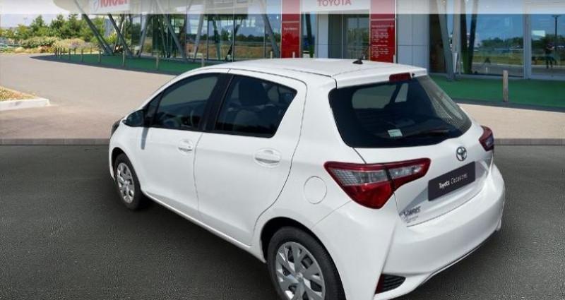 Toyota Yaris 69 VVT-i France 5p Blanc occasion à Hoenheim - photo n°2