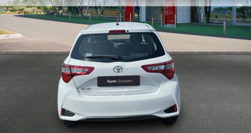 Toyota Yaris 69 VVT-i France 5p Blanc occasion à Hoenheim - photo n°4
