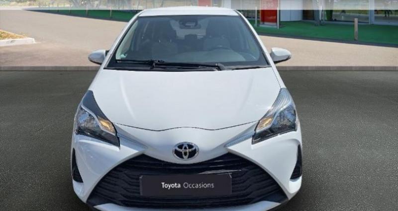 Toyota Yaris 69 VVT-i France 5p Blanc occasion à Hoenheim - photo n°5