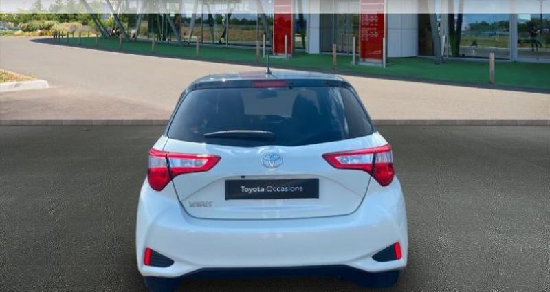 Toyota Yaris 70 VVT-i Design 5p RC18 Blanc occasion à Haguenau - photo n°4