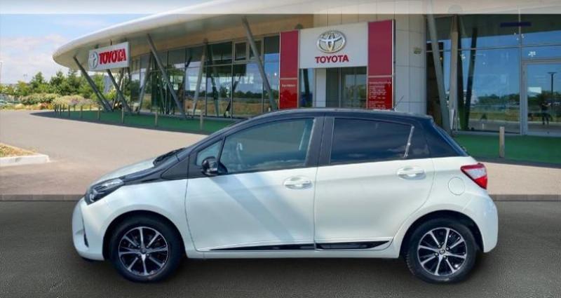 Toyota Yaris 70 VVT-i Design 5p RC18 Blanc occasion à Haguenau - photo n°3