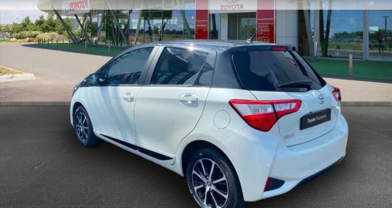 Toyota Yaris 70 VVT-i Design 5p RC18 Blanc occasion à Haguenau - photo n°2