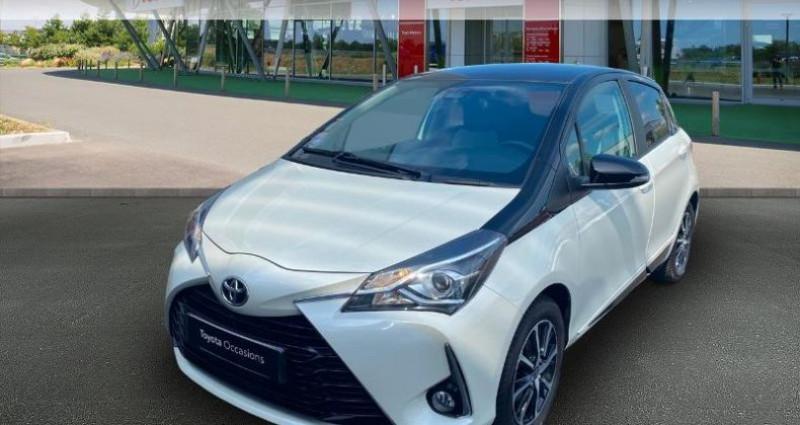 Toyota Yaris 70 VVT-i Design 5p RC18 Blanc occasion à Haguenau