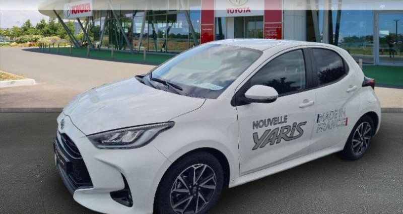 Toyota Yaris 70 VVT-i Design 5p Blanc occasion à Hoenheim