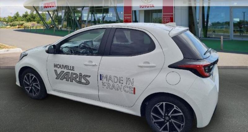 Toyota Yaris 70 VVT-i Design 5p Blanc occasion à Hoenheim - photo n°2