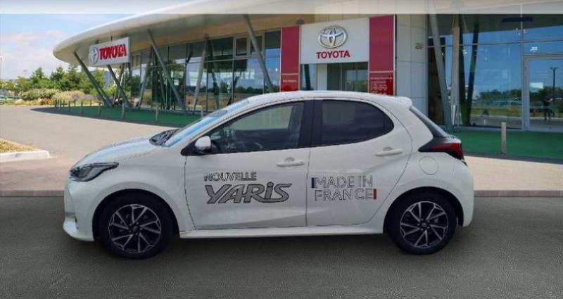 Toyota Yaris 70 VVT-i Design 5p Blanc occasion à Hoenheim - photo n°3