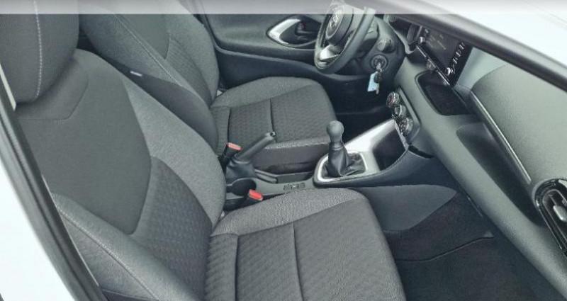 Toyota Yaris 70 VVT-i Design 5p Blanc occasion à Hoenheim - photo n°6