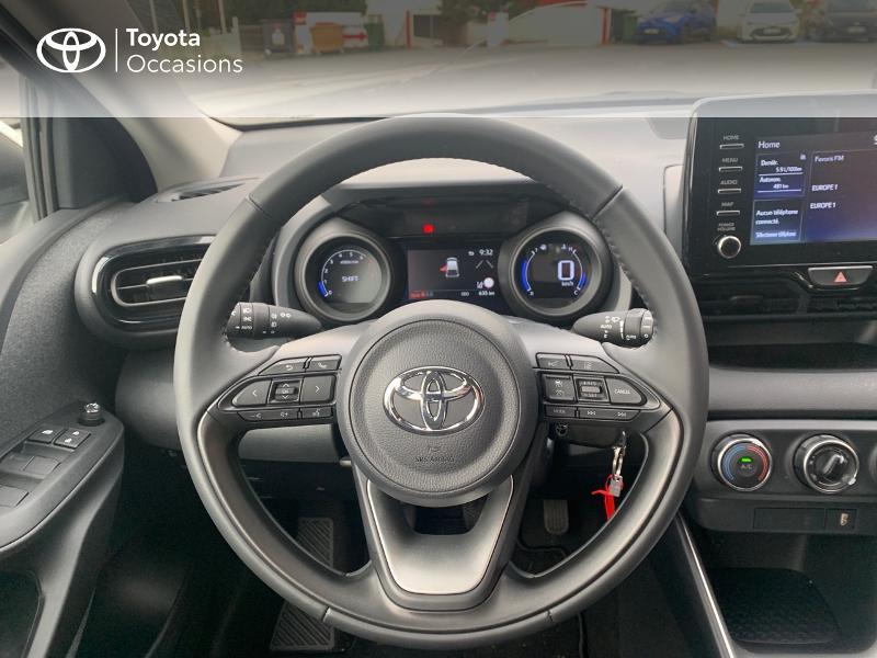 Toyota Yaris 70 VVT-i Design 5p Blanc occasion à CASTRES - photo n°9