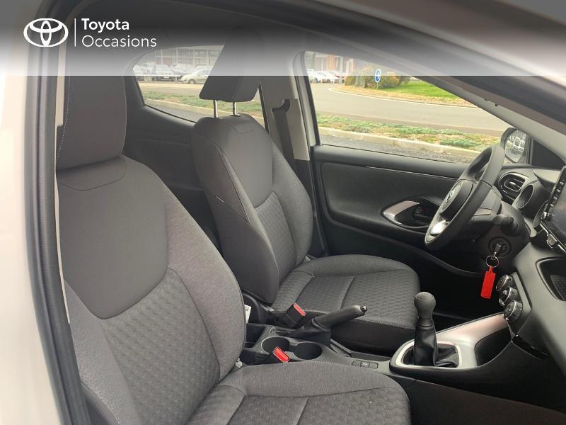 Toyota Yaris 70 VVT-i Design 5p Blanc occasion à CASTRES - photo n°6