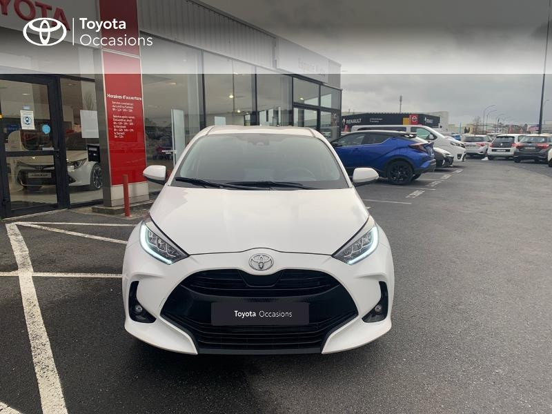 Toyota Yaris 70 VVT-i Design 5p Blanc occasion à CASTRES - photo n°5