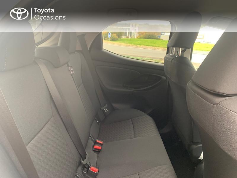 Toyota Yaris 70 VVT-i Design 5p Blanc occasion à CASTRES - photo n°7