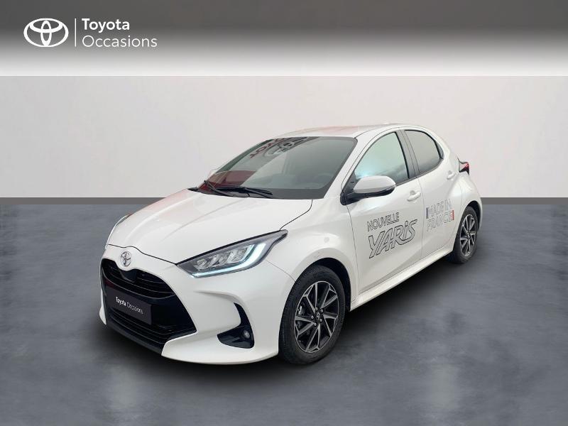 Toyota Yaris 70 VVT-i Design 5p Blanc occasion à CASTRES