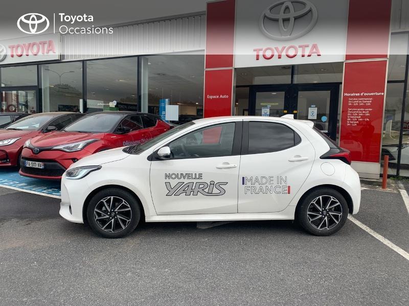 Toyota Yaris 70 VVT-i Design 5p Blanc occasion à CASTRES - photo n°20