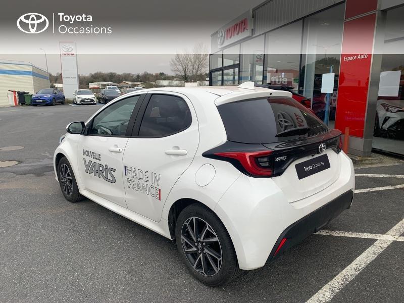 Toyota Yaris 70 VVT-i Design 5p Blanc occasion à CASTRES - photo n°19