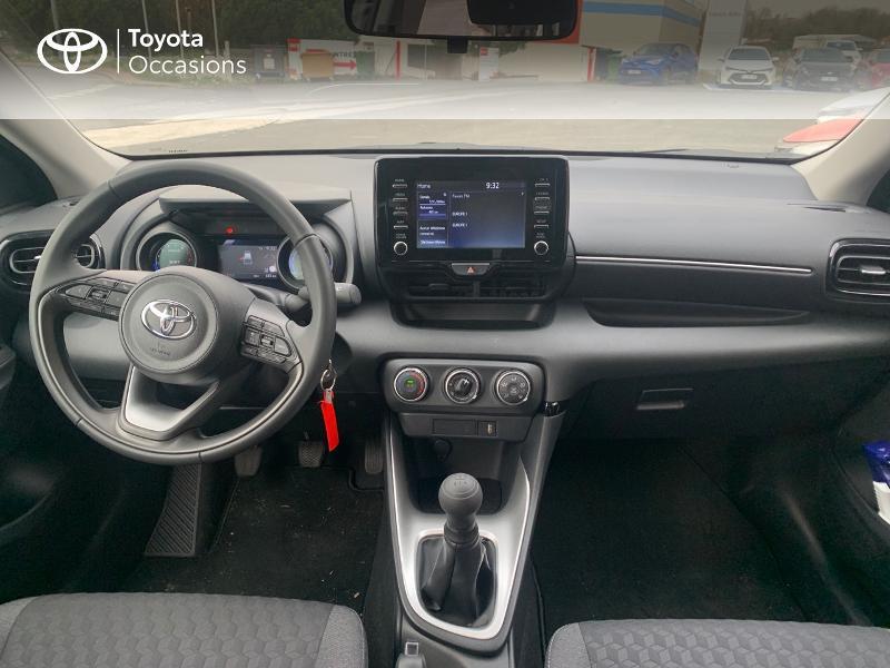 Toyota Yaris 70 VVT-i Design 5p Blanc occasion à CASTRES - photo n°8