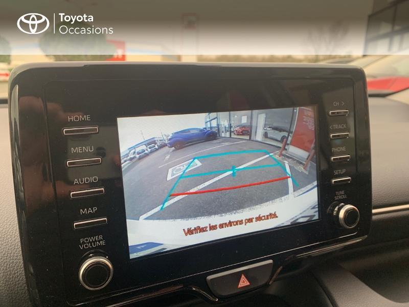 Toyota Yaris 70 VVT-i Design 5p Blanc occasion à CASTRES - photo n°17