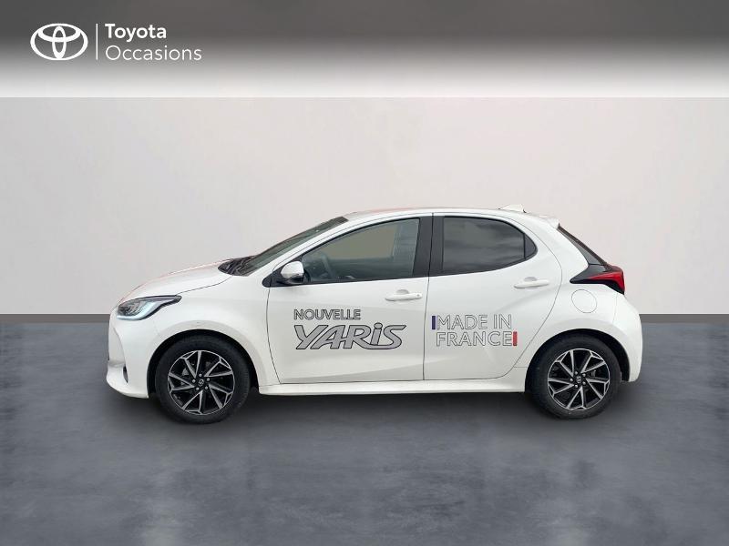 Toyota Yaris 70 VVT-i Design 5p Blanc occasion à CASTRES - photo n°3