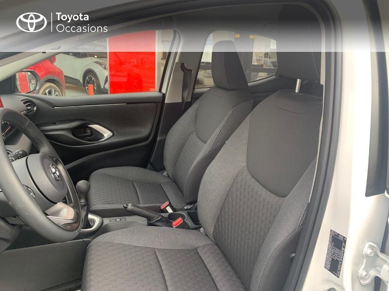 Toyota Yaris 70 VVT-i Design 5p Blanc occasion à CASTRES - photo n°11